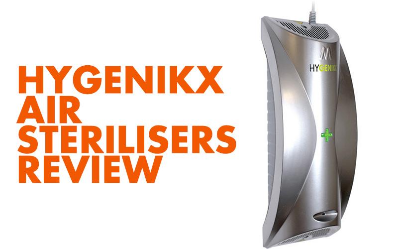 Hygenikx Air Sterilisers ReviewBanner