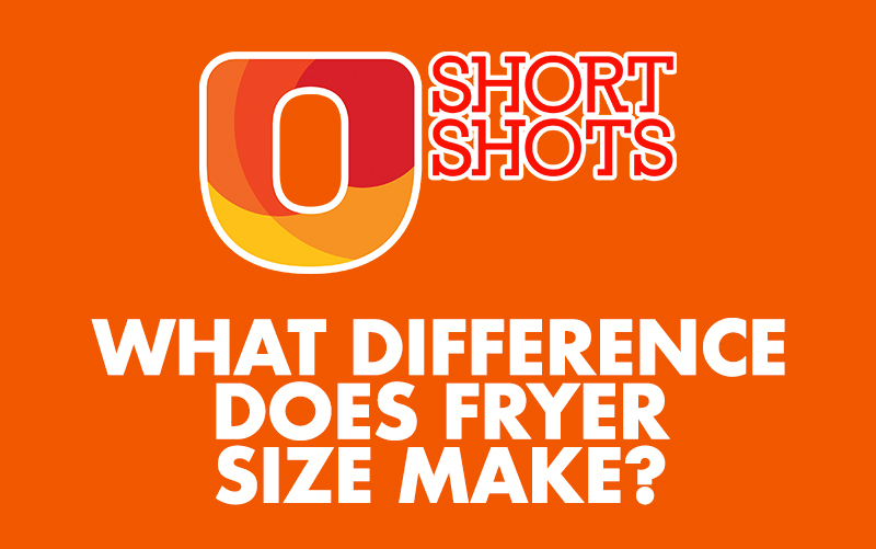 What difference does fryer size make