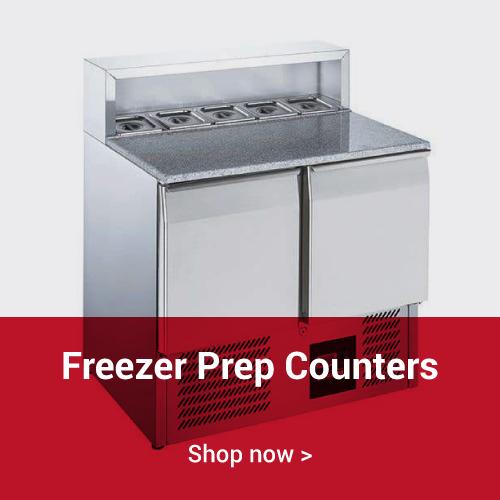 Freezer Prep Counters