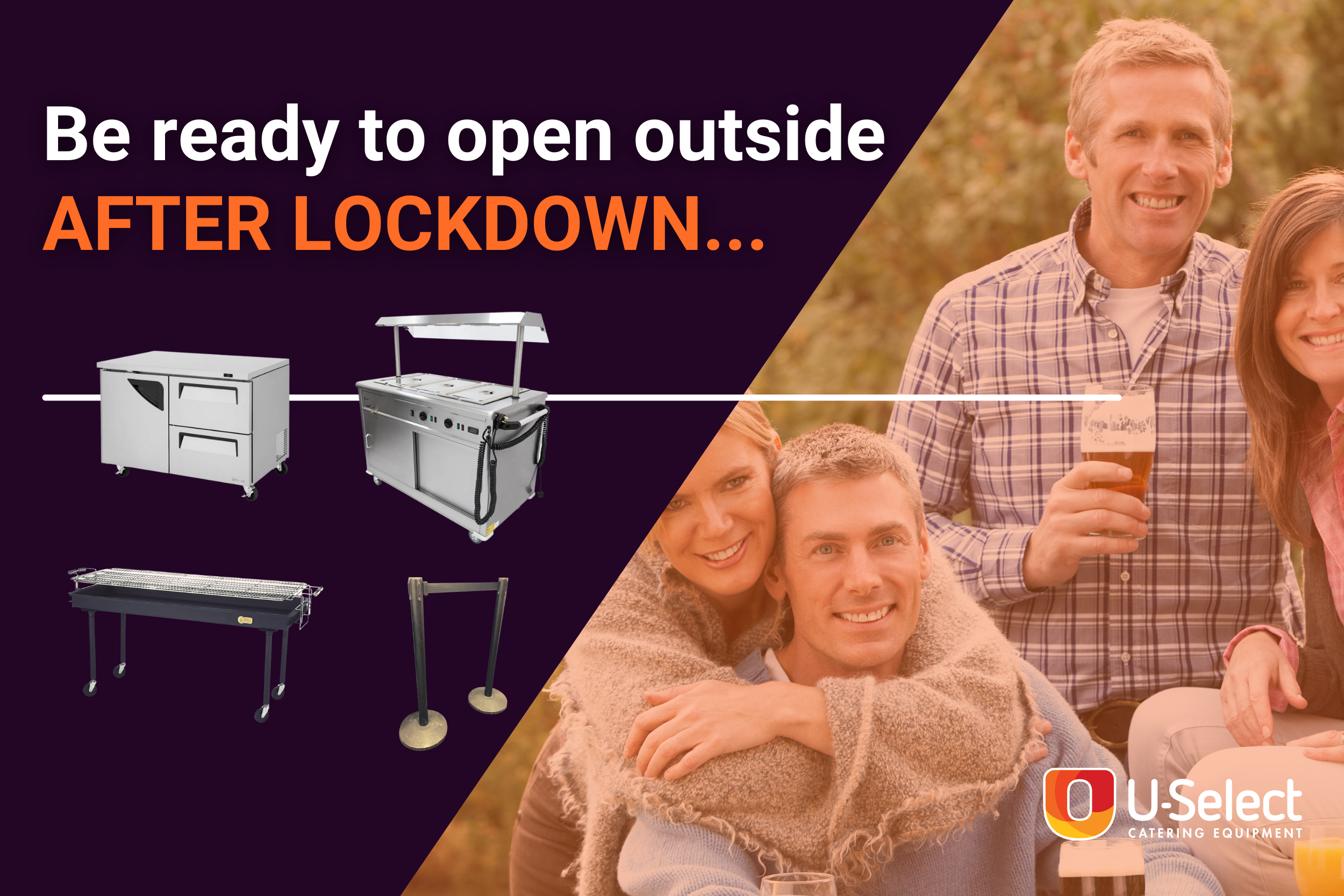 Be Ready to Open Outside After Lockdown on April 12th with this equipment