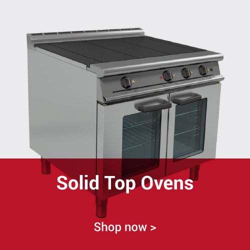 Solid Top Ovens
