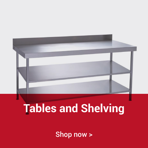 Tables and Shelving