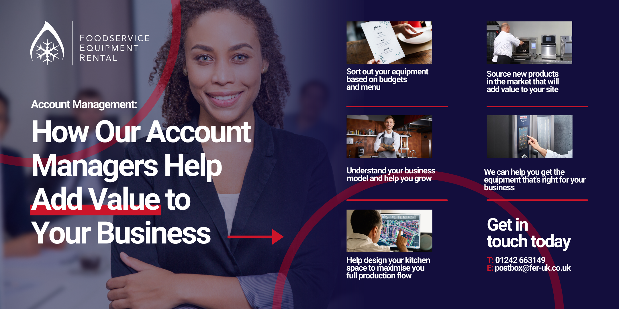 How our account managers help grow your business